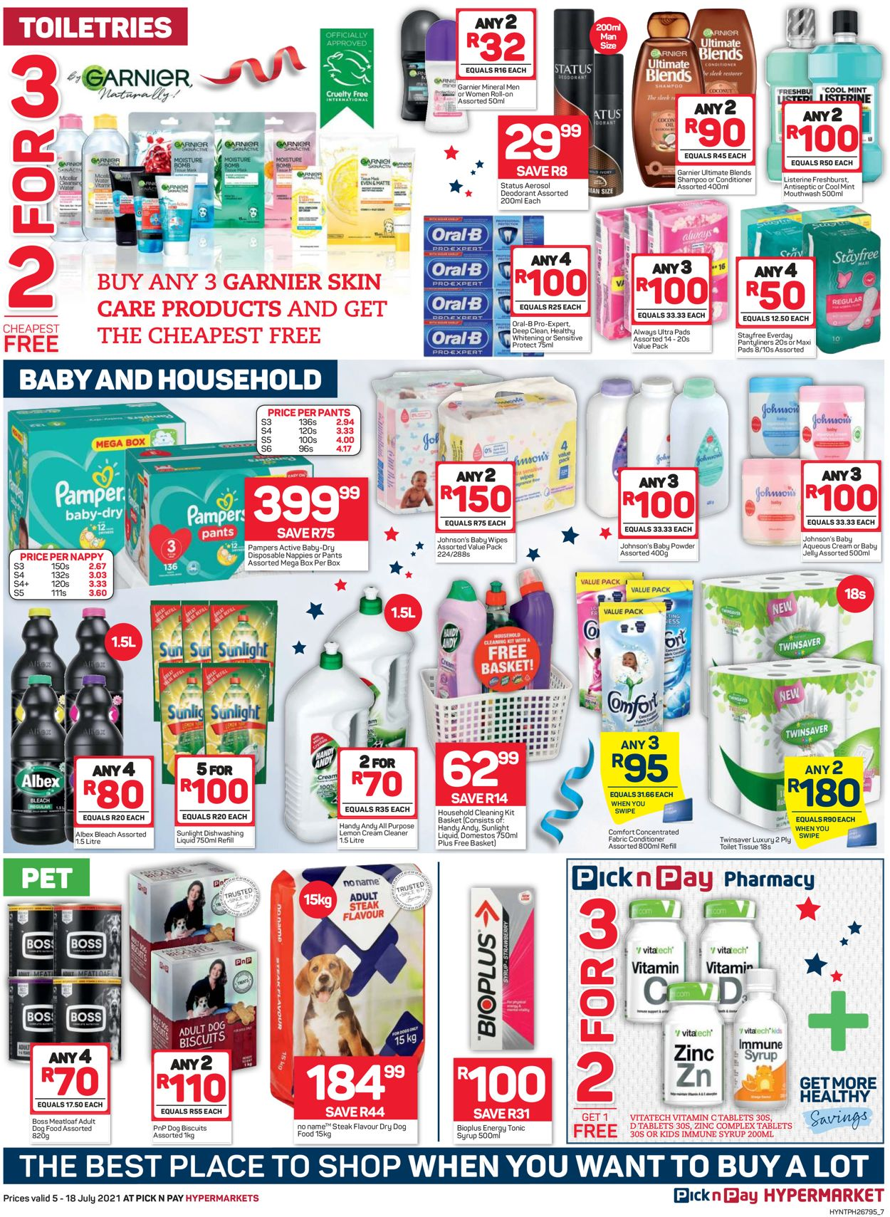Pick n Pay Catalogue - 2021/07/05-2021/07/18 (Page 7)