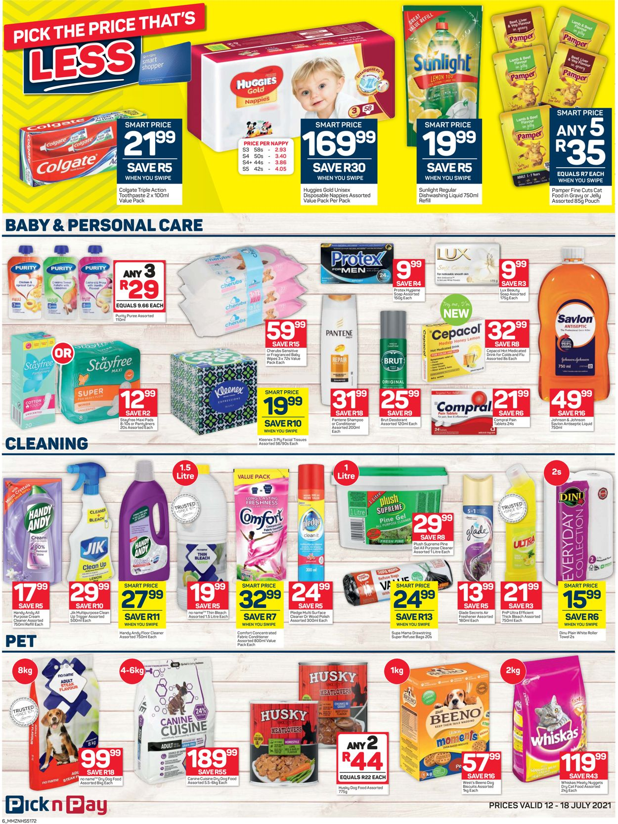 Pick n Pay Catalogue - 2021/07/12-2021/07/18 (Page 6)