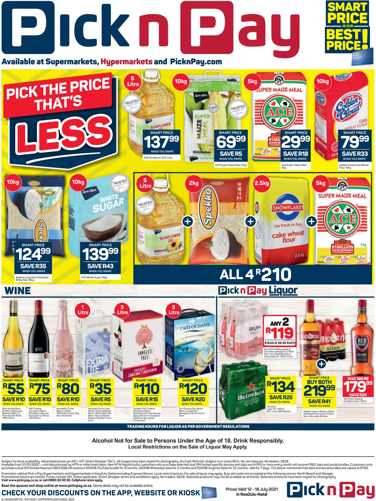 Pick n Pay Catalogue - 2021/07/12-2021/07/18 (Page 8)