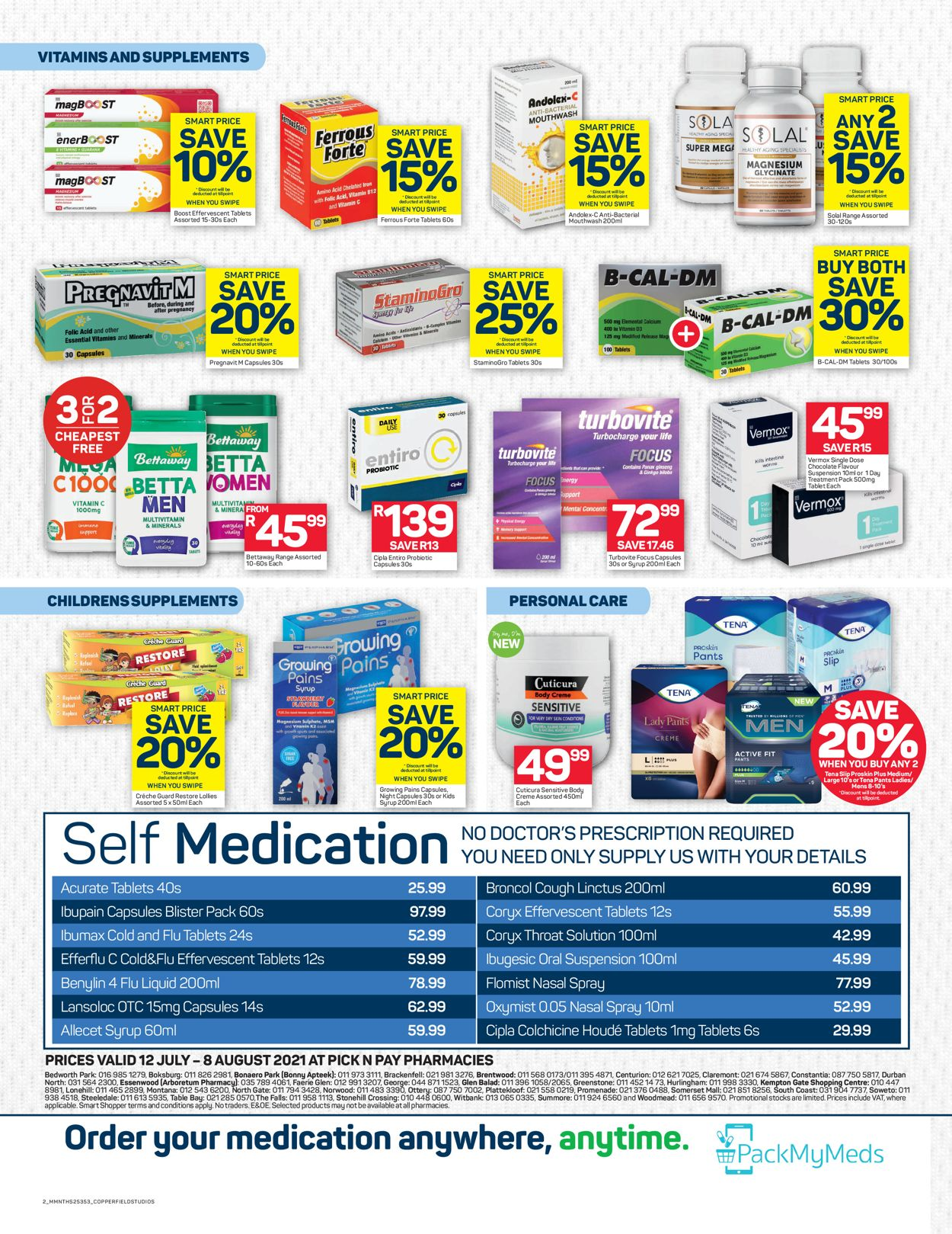 Pick n Pay Catalogue - 2021/07/12-2021/08/08 (Page 2)
