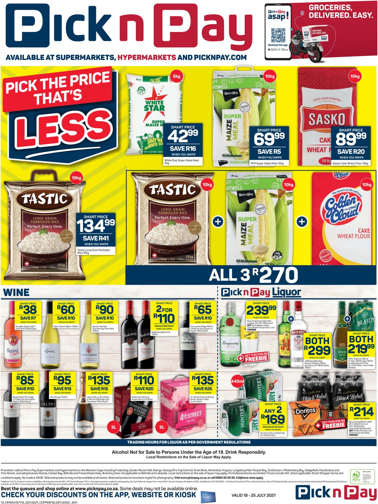 Pick n Pay Catalogue - 2021/07/19-2021/07/25 (Page 12)