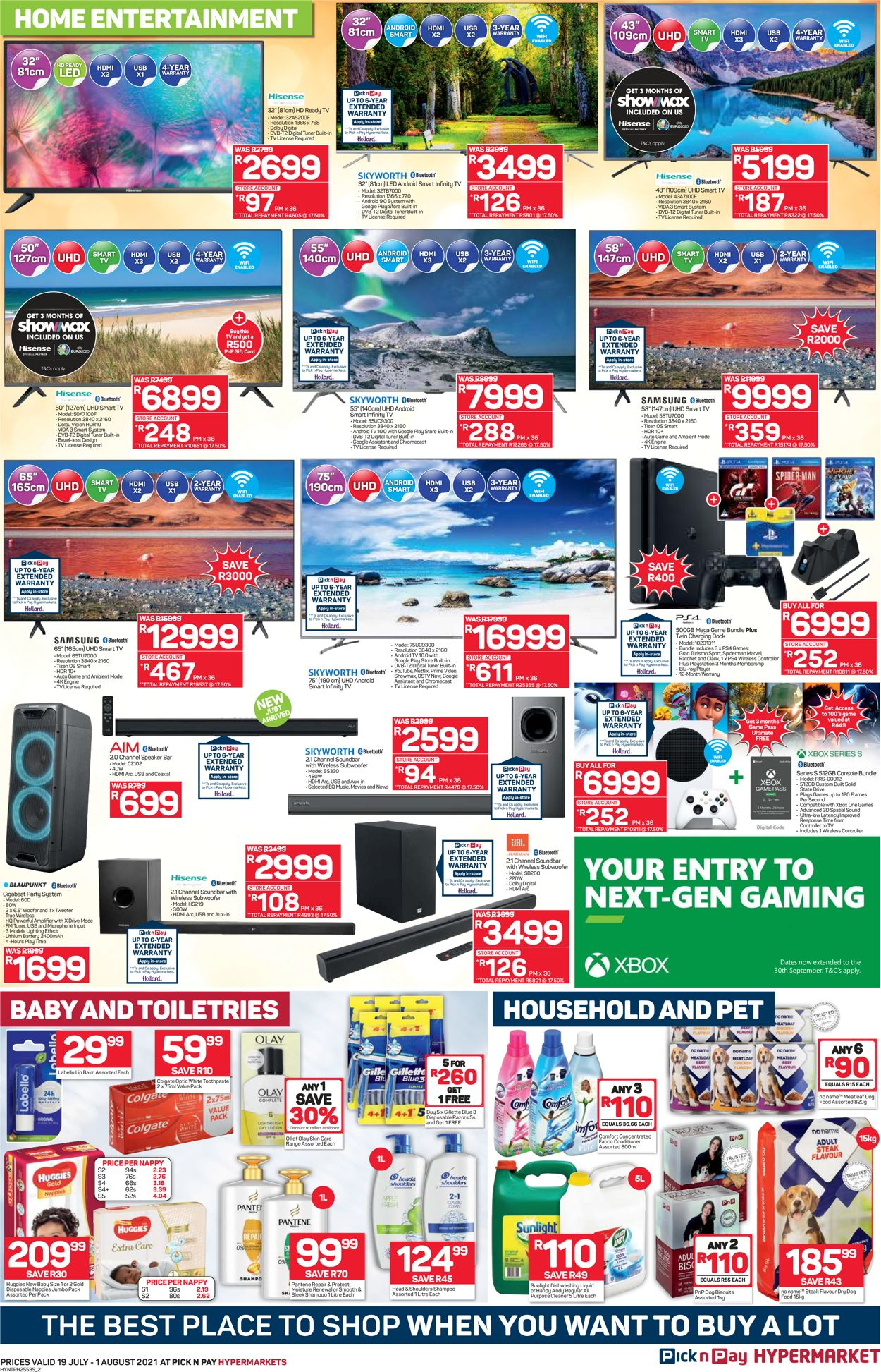 Pick n Pay Catalogue - 2021/07/19-2021/08/01 (Page 2)