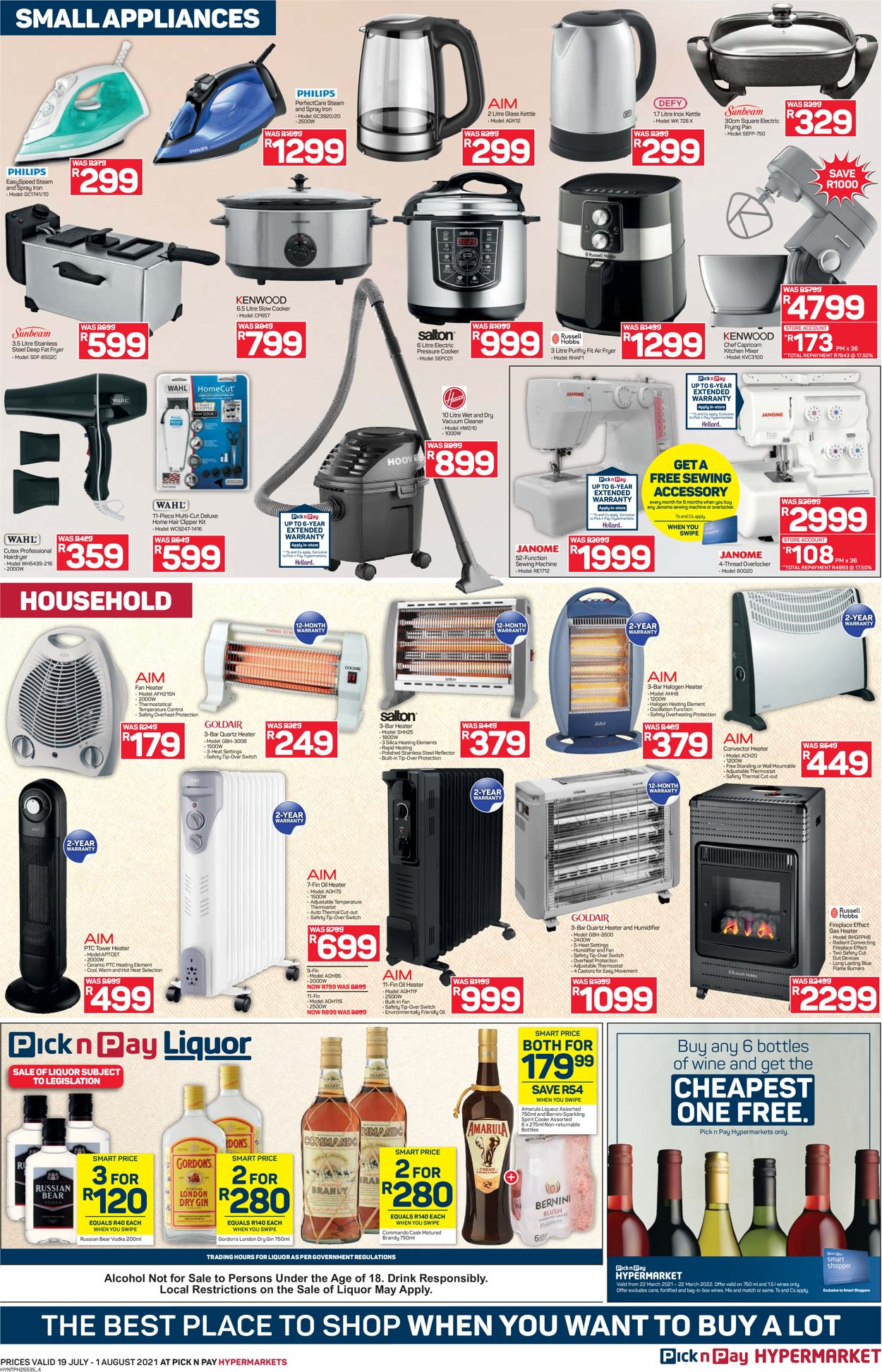 Pick n Pay Catalogue - 2021/07/19-2021/08/01 (Page 4)