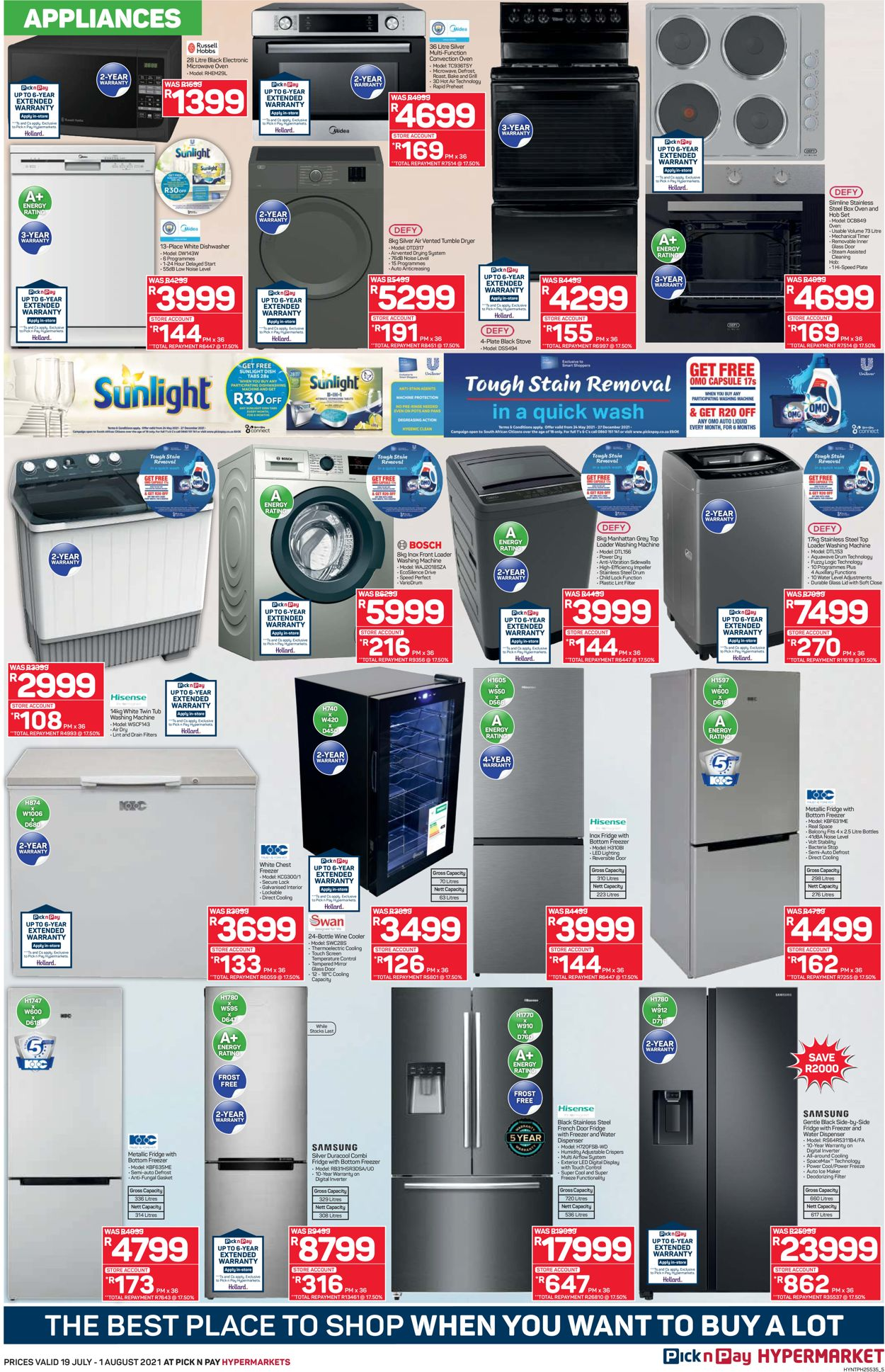 Pick n Pay Catalogue - 2021/07/19-2021/08/01 (Page 5)