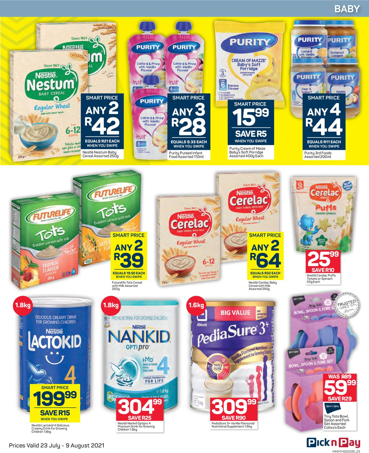 Pick n Pay Catalogue - 2021/07/23-2021/08/09 (Page 23)