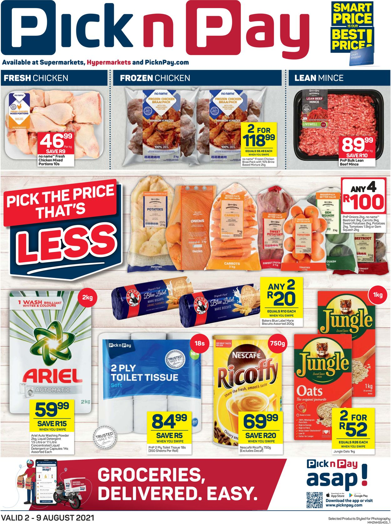 Pick n Pay Catalogue - 2021/08/02-2021/08/09