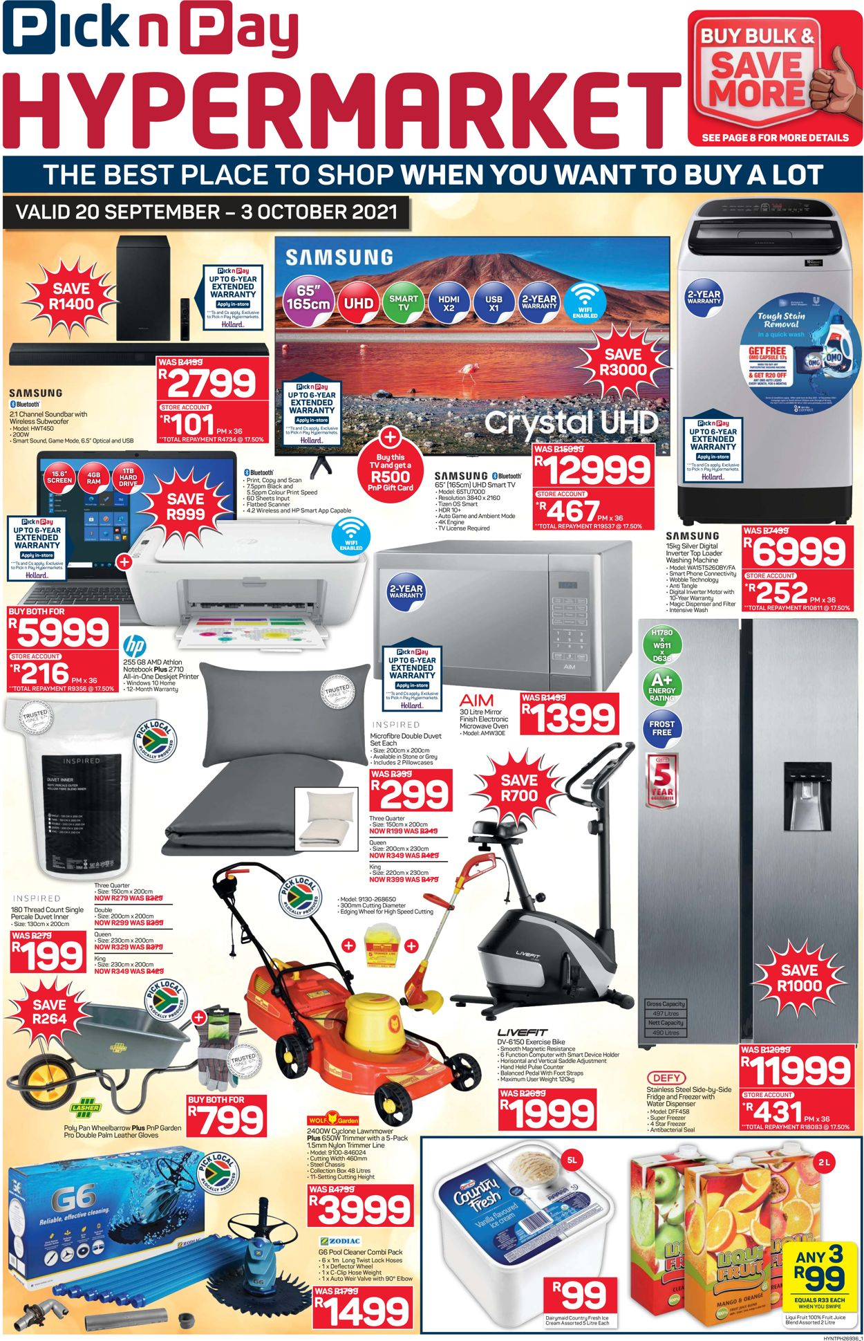 Pick n Pay Catalogue - 2021/09/20-2021/10/03