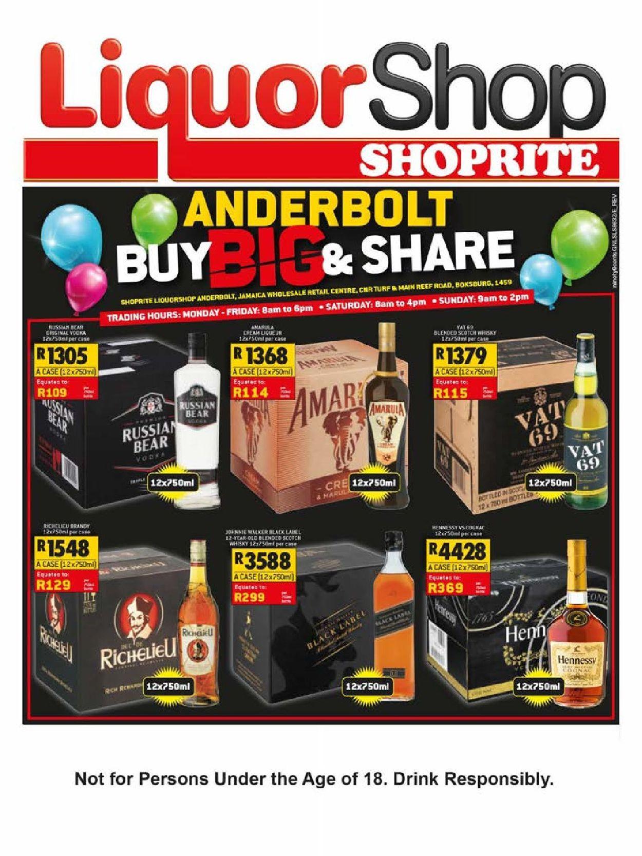 Shoprite Catalogue - 2019/04/15-2019/05/05