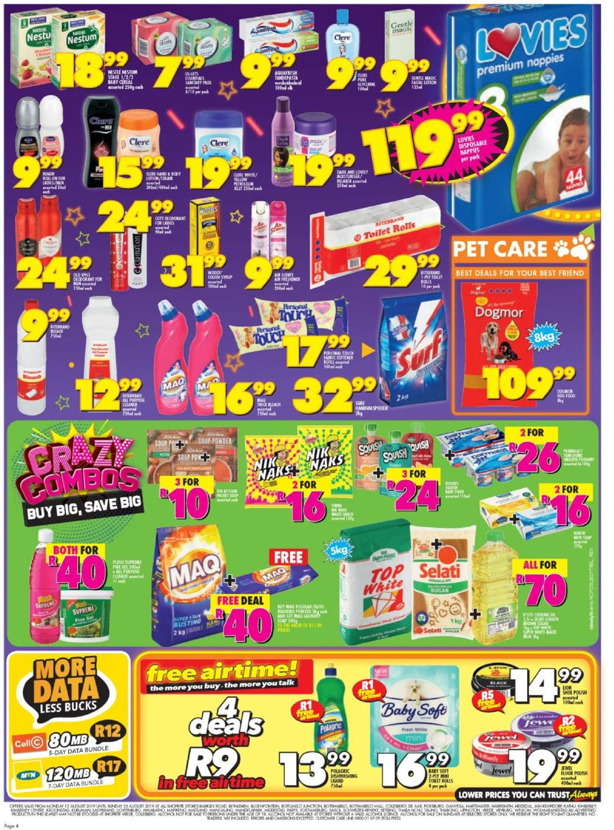 Shoprite Catalogue - 2019/08/12-2019/08/25 (Page 3)