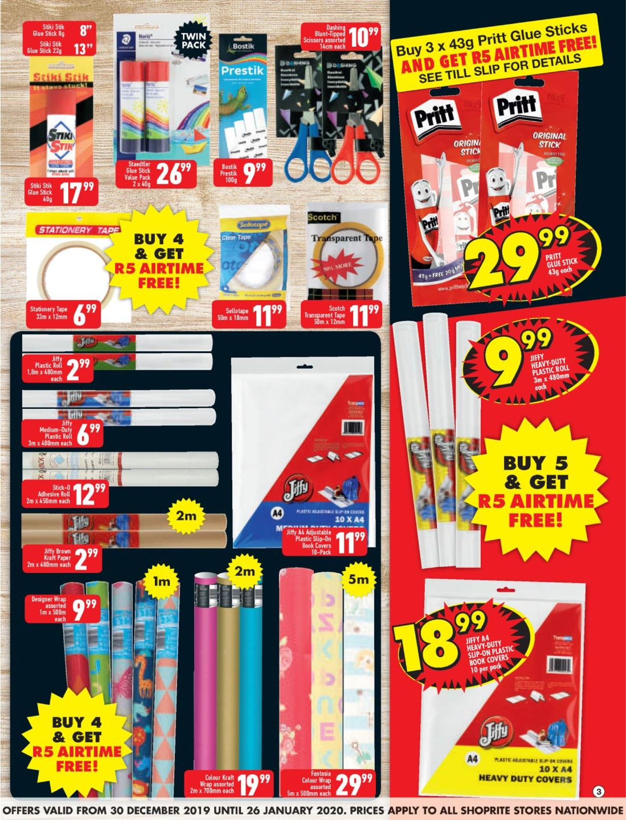 Shoprite Back 2 School Catalogue - 2019/12/30-2020/01/26 (Page 3)