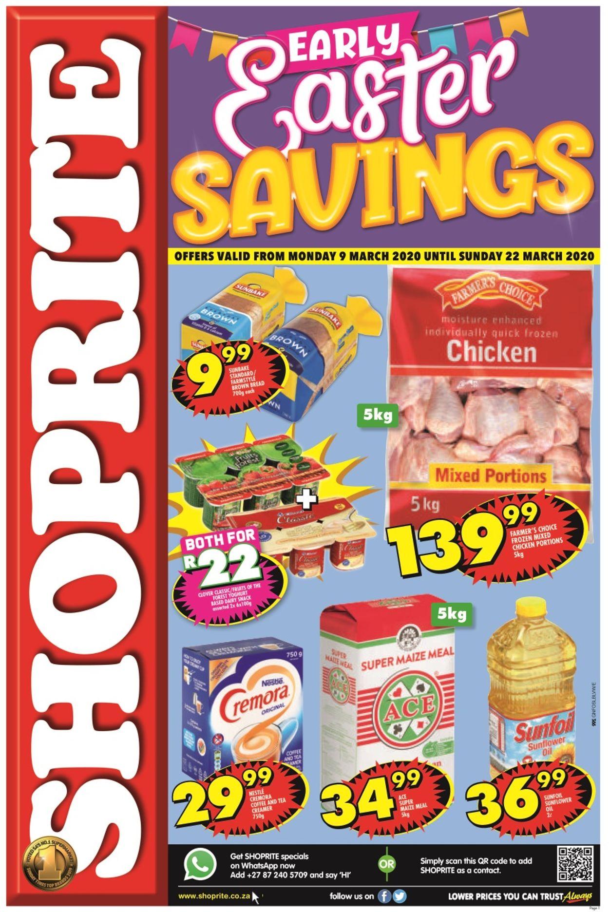 Shoprite Catalogue - 2020/03/09-2020/03/22