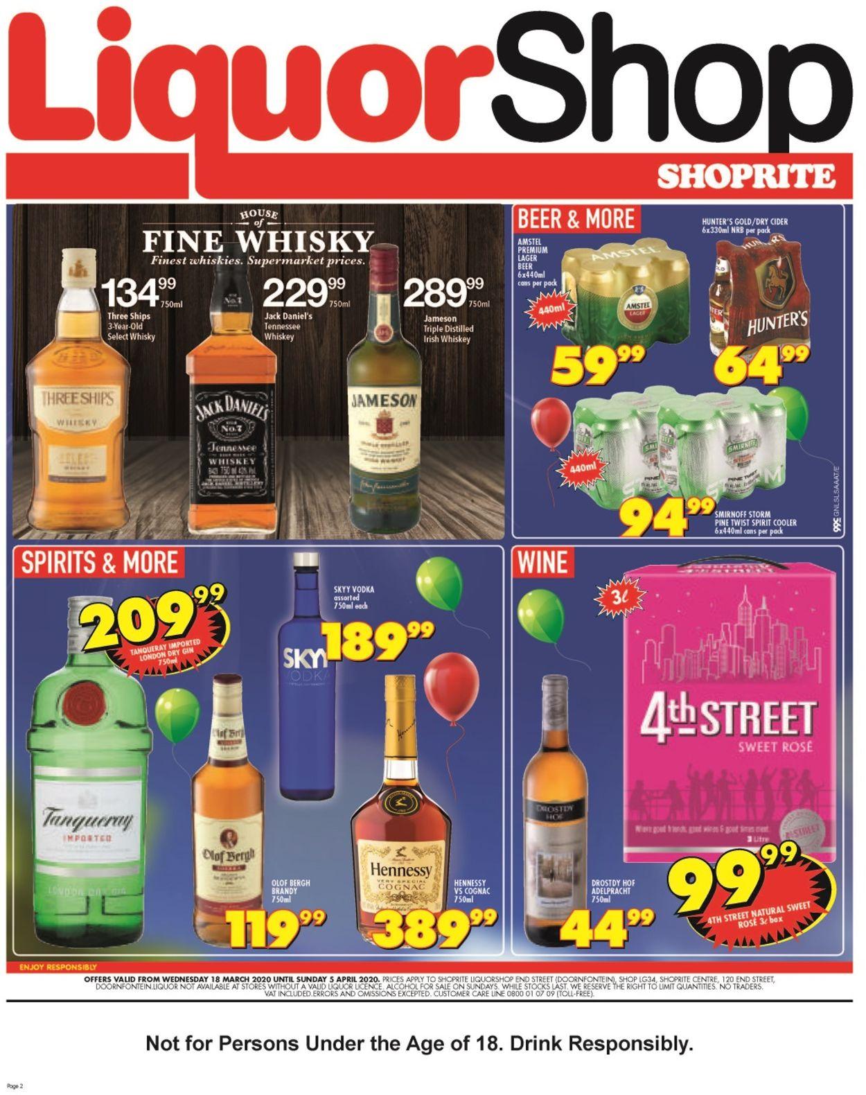 Shoprite Catalogue - 2020/03/18-2020/04/05 (Page 2)