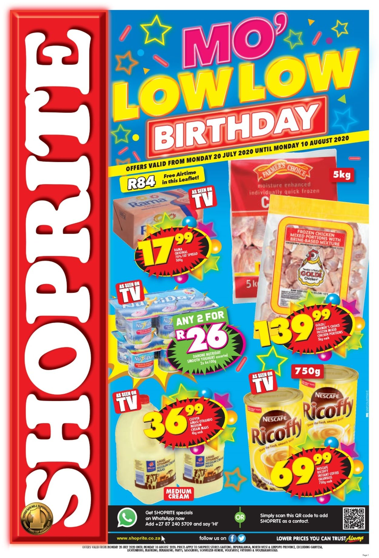Shoprite Catalogue - 2020/07/20-2020/08/10