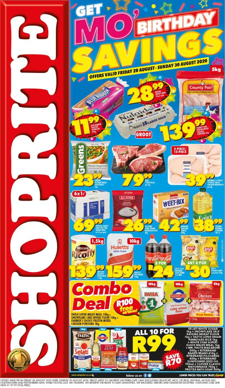 Shoprite Catalogue - 2020/08/28-2020/08/30