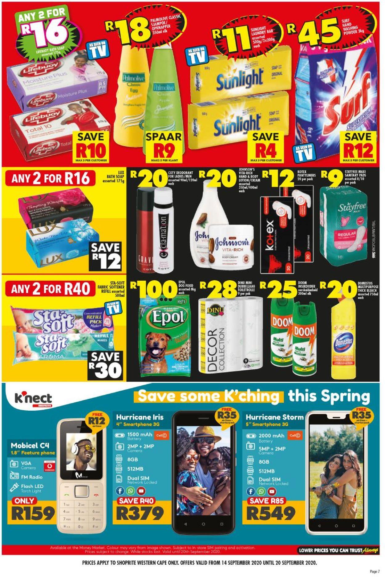 Shoprite Catalogue - 2020/09/14-2020/09/20 (Page 6)