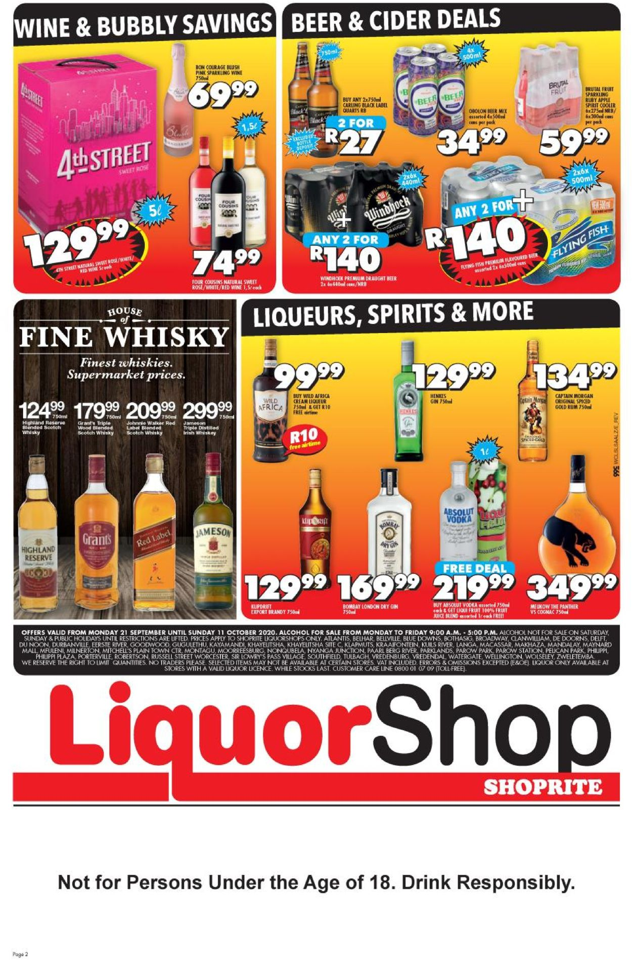 Shoprite Catalogue - 2020/09/21-2020/10/11 (Page 2)