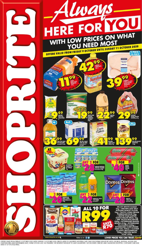 Shoprite Catalogue - 2020/10/09-2020/10/11