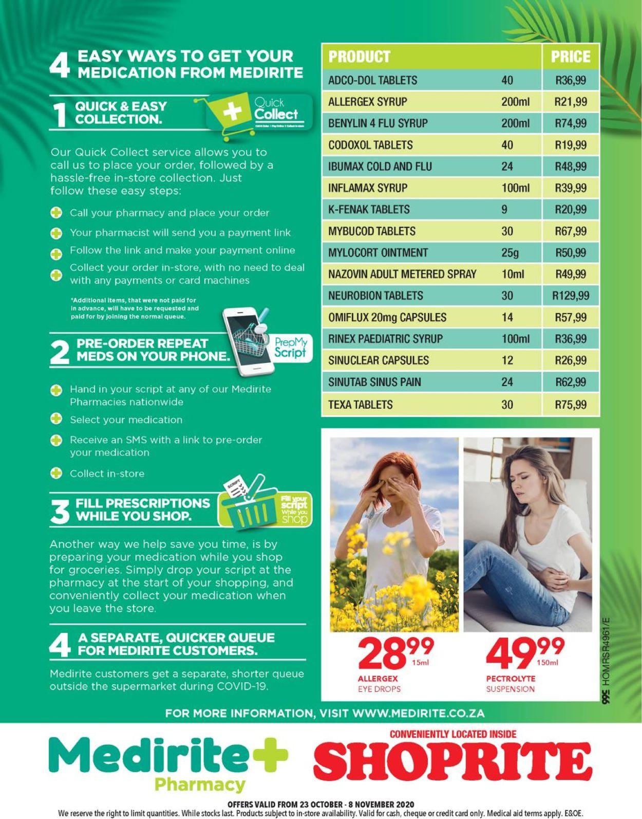 Shoprite Catalogue - 2020/10/23-2020/11/08 (Page 4)
