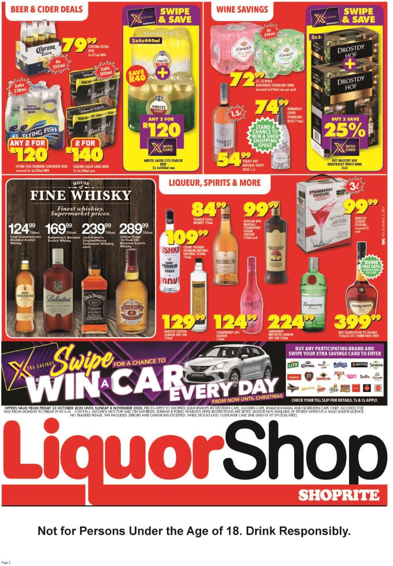 Shoprite Catalogue - 2020/10/23-2020/11/08 (Page 2)