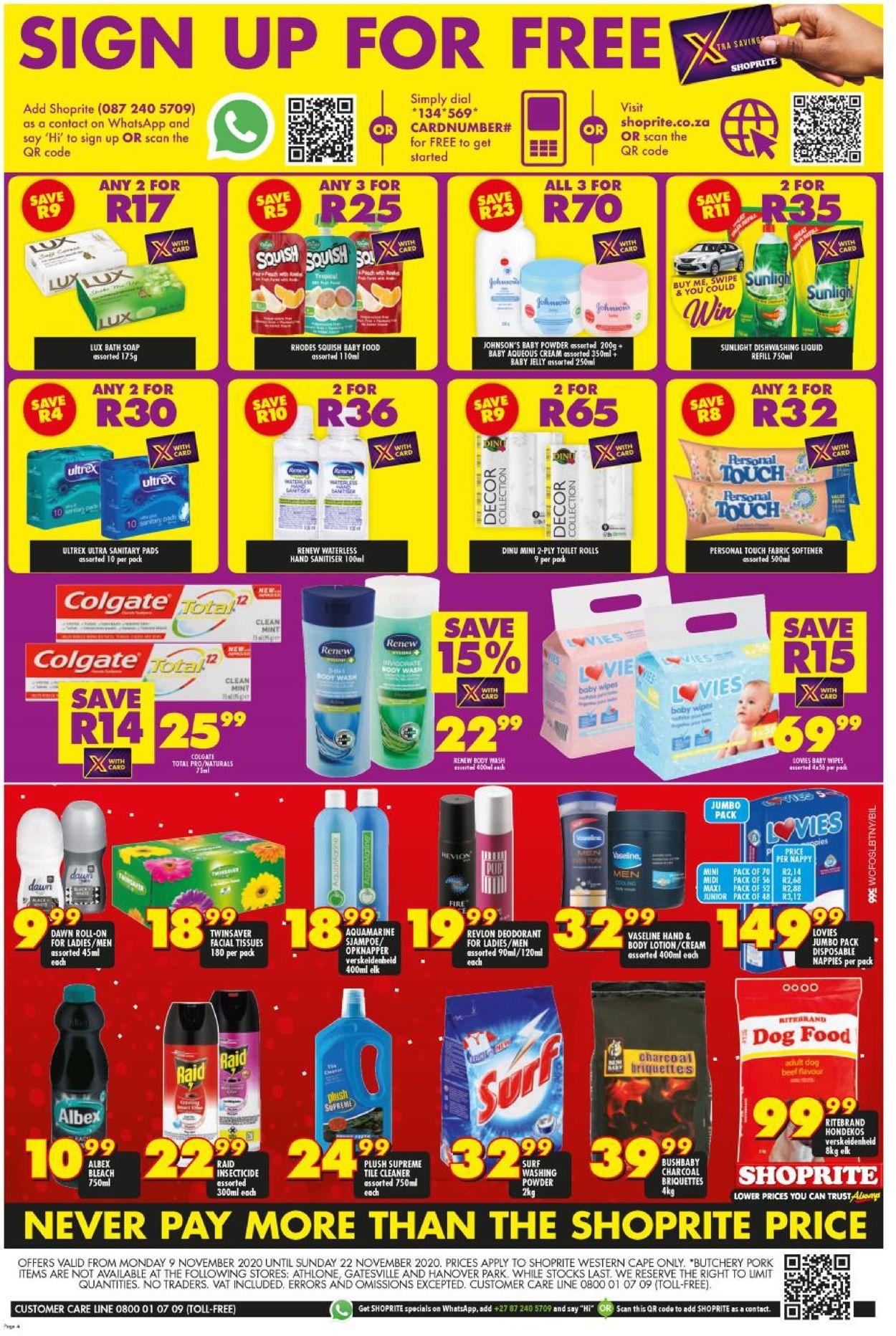 Shoprite Xmas 2020 Catalogue - 2020/11/09-2020/11/22 (Page 3)