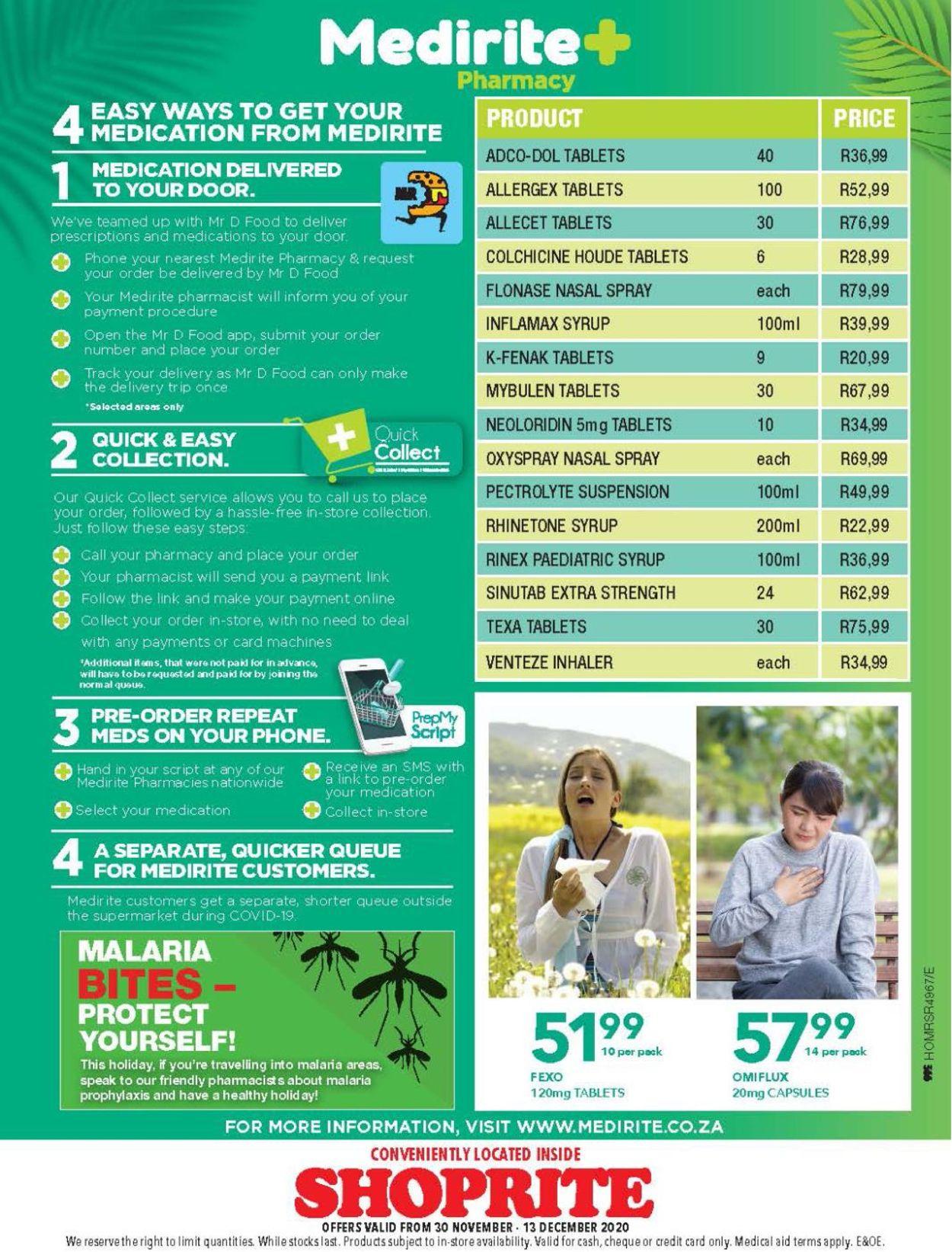 Shoprite Catalogue - 2020/11/30-2020/12/13 (Page 4)