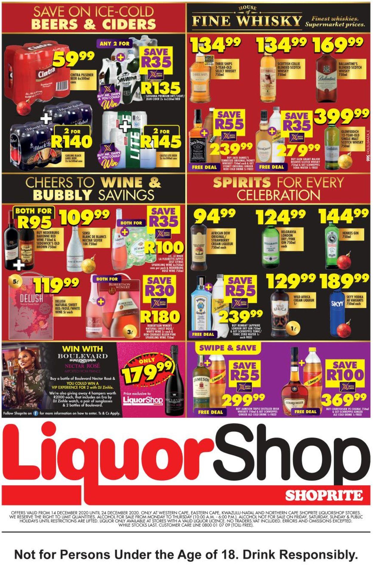 Shoprite LiquorShop Catalogue - 2020/12/14-2020/12/24 (Page 2)