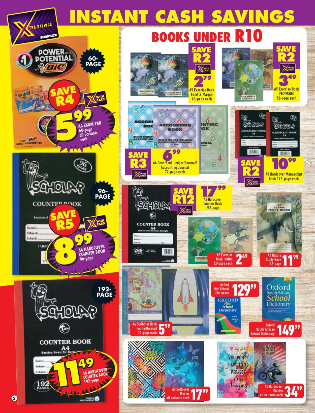 Shoprite Back to School 2021 Catalogue - 2021/01/04-2021/02/21 (Page 2)