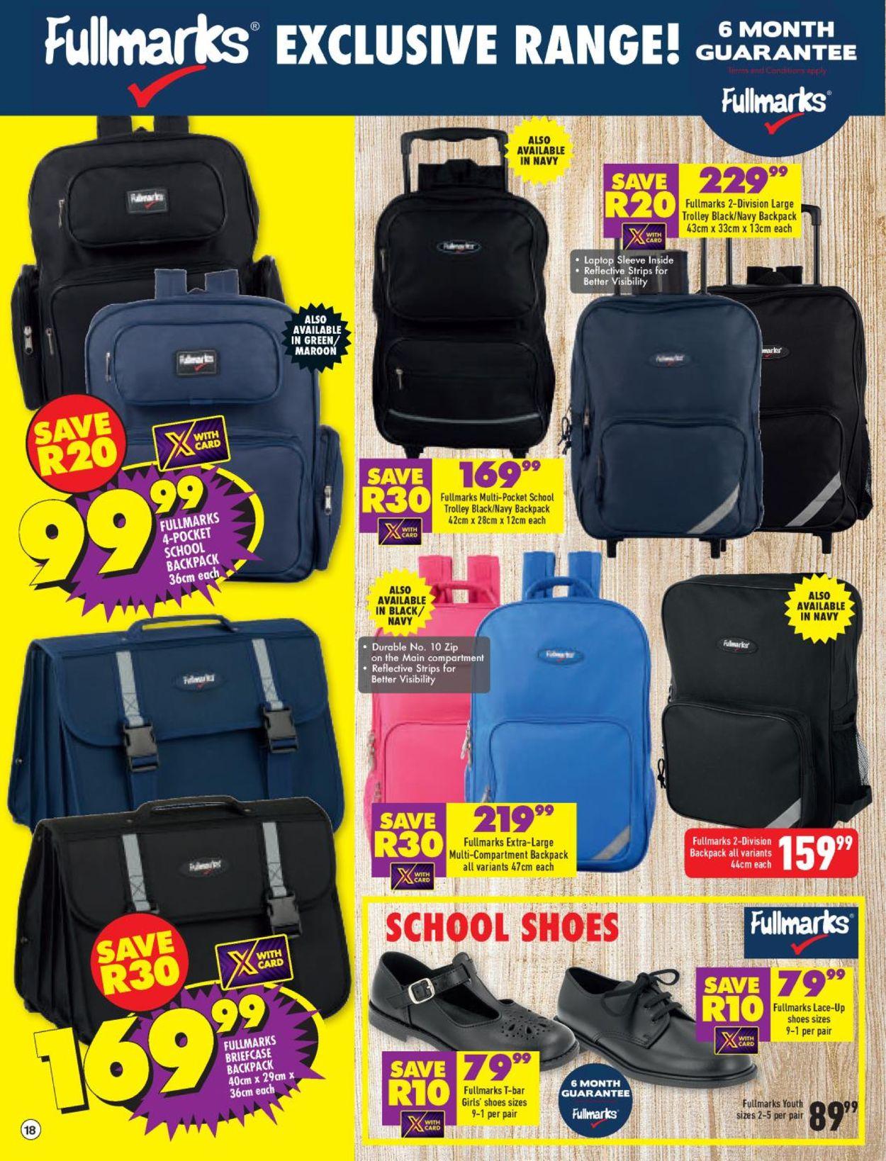 Shoprite Back to School 2021 Catalogue - 2021/01/04-2021/02/21 (Page 18)