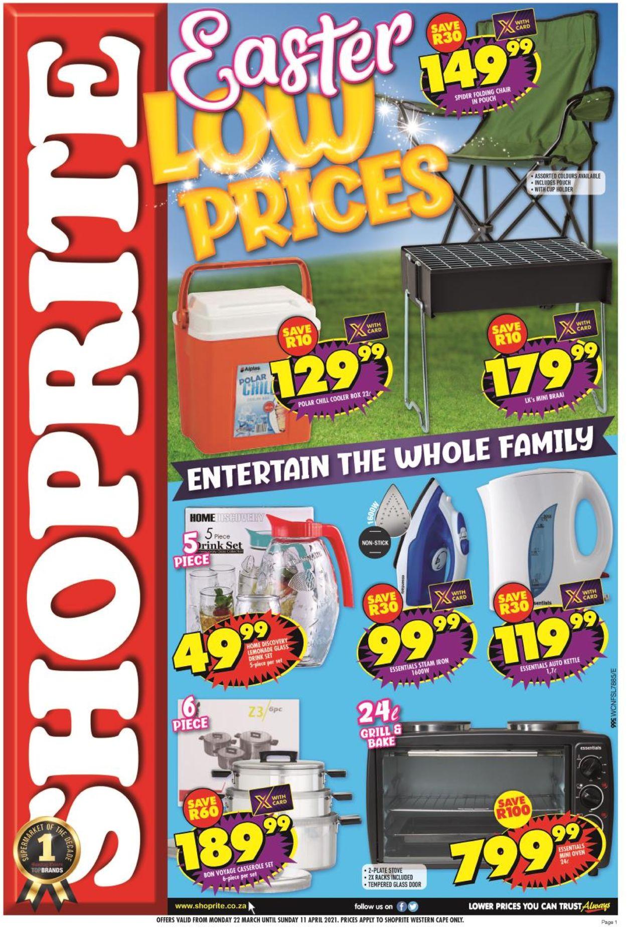 Shoprite Catalogue - 2021/03/22-2021/04/11