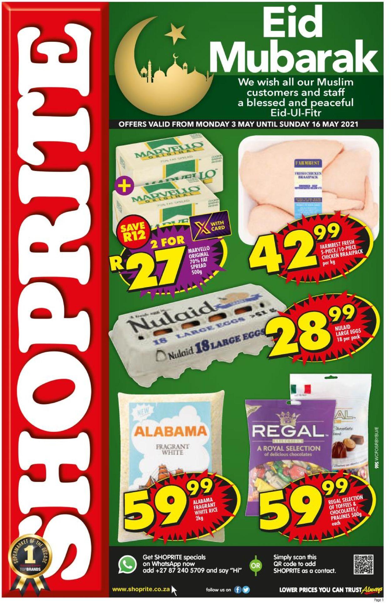 Shoprite Catalogue - 2021/05/03-2021/05/16