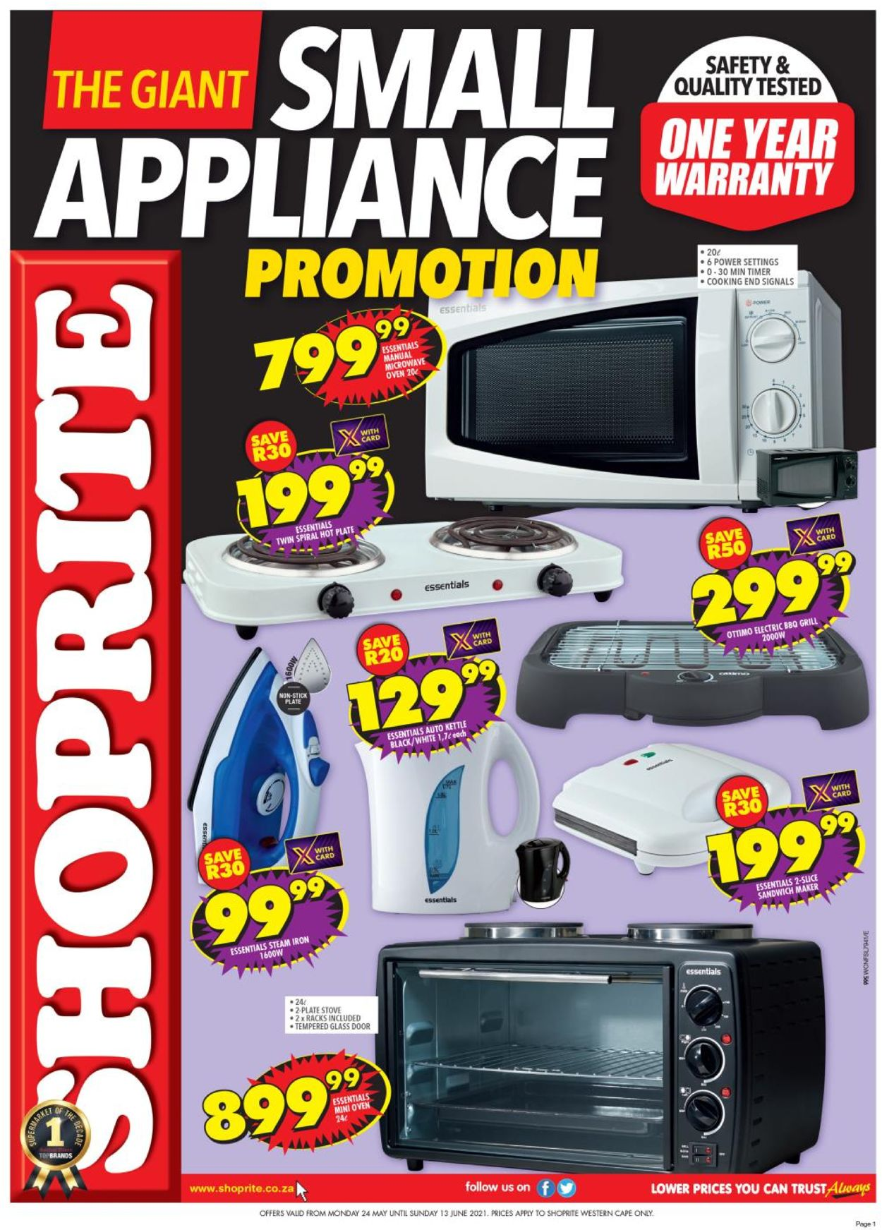 Shoprite Catalogue - 2021/05/24-2021/06/13