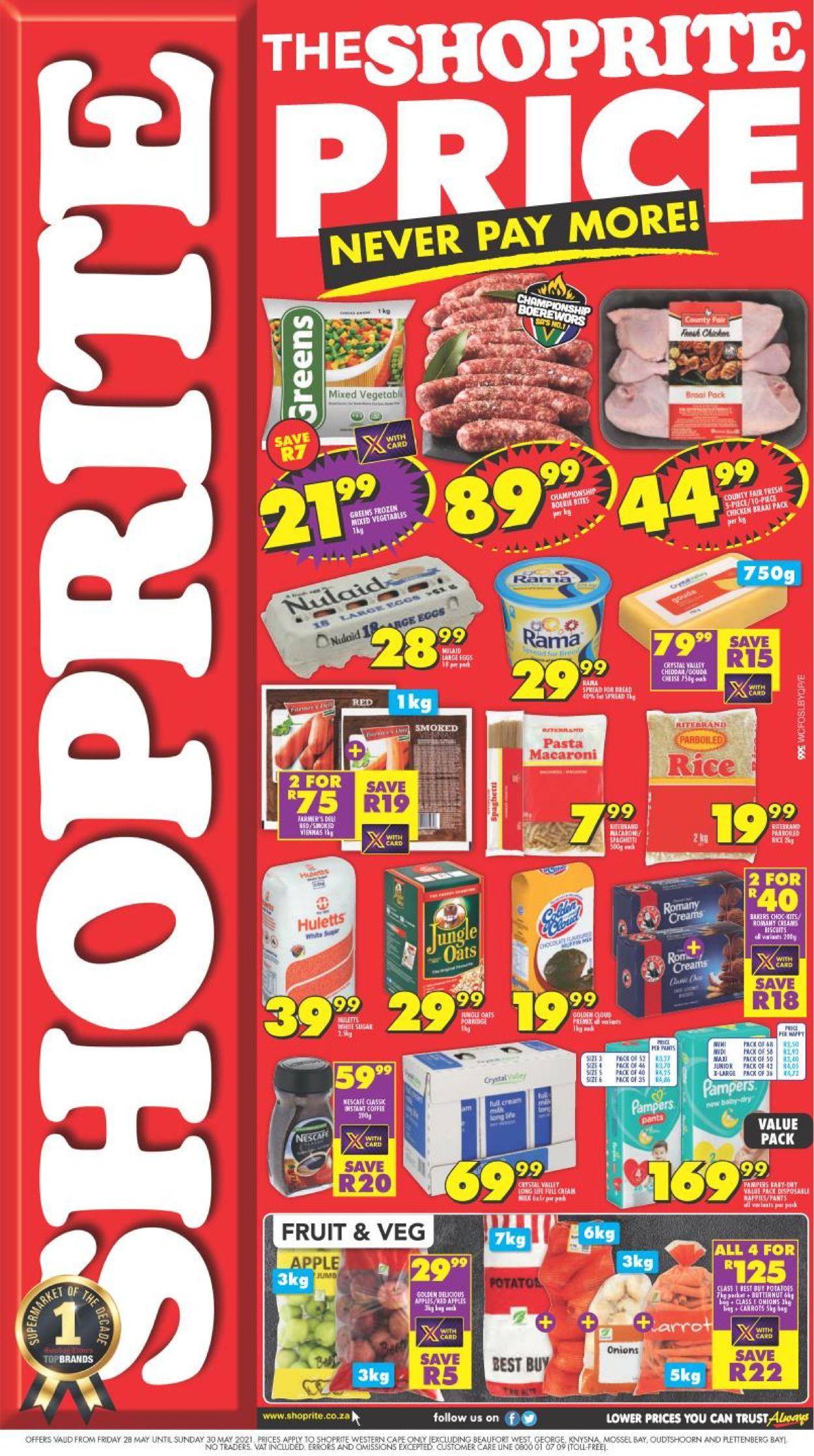 Shoprite Catalogue - 2021/05/28-2021/05/30