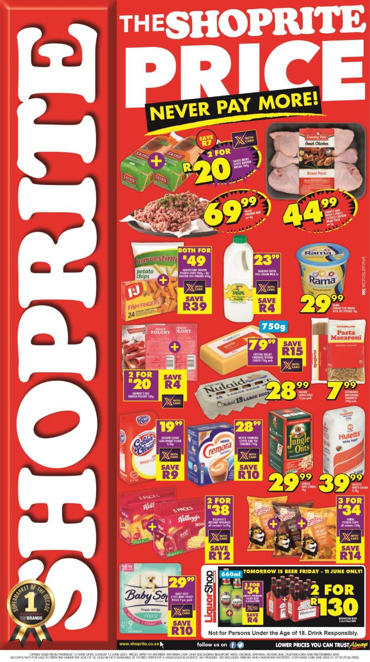 Shoprite Catalogue - 2021/06/10-2021/06/13