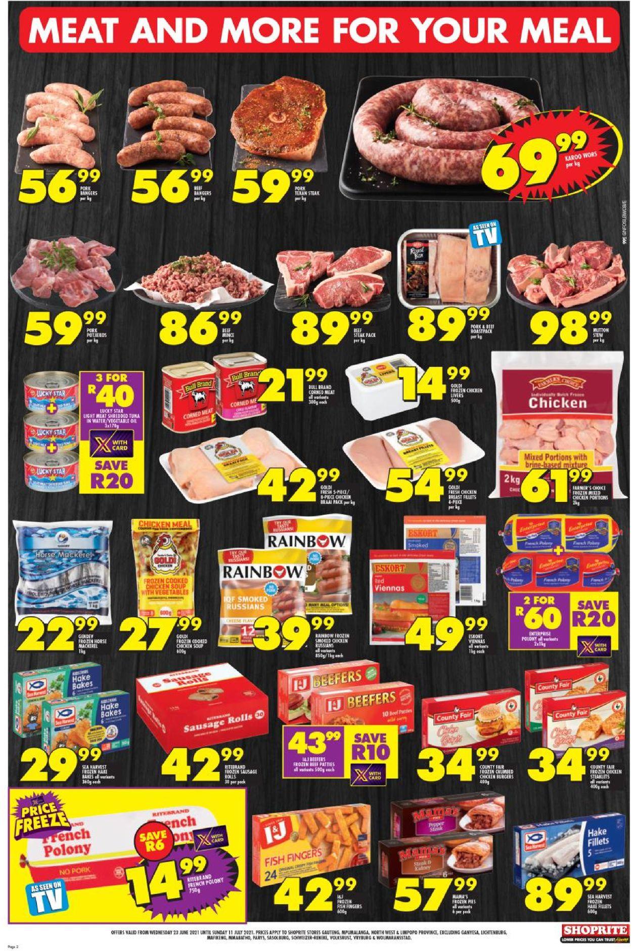 Shoprite Catalogue - 2021/06/23-2021/07/11 (Page 2)