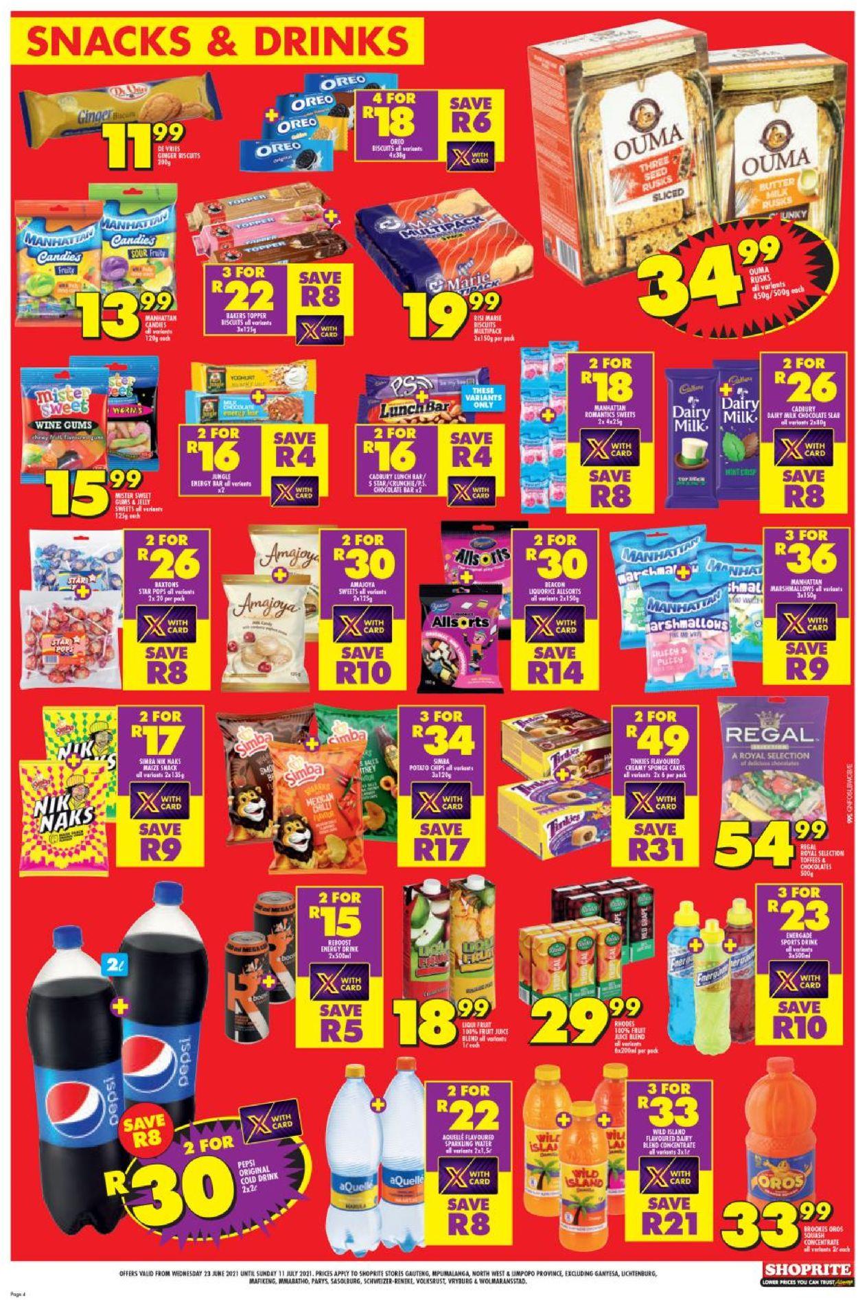 Shoprite Catalogue - 2021/06/23-2021/07/11 (Page 4)