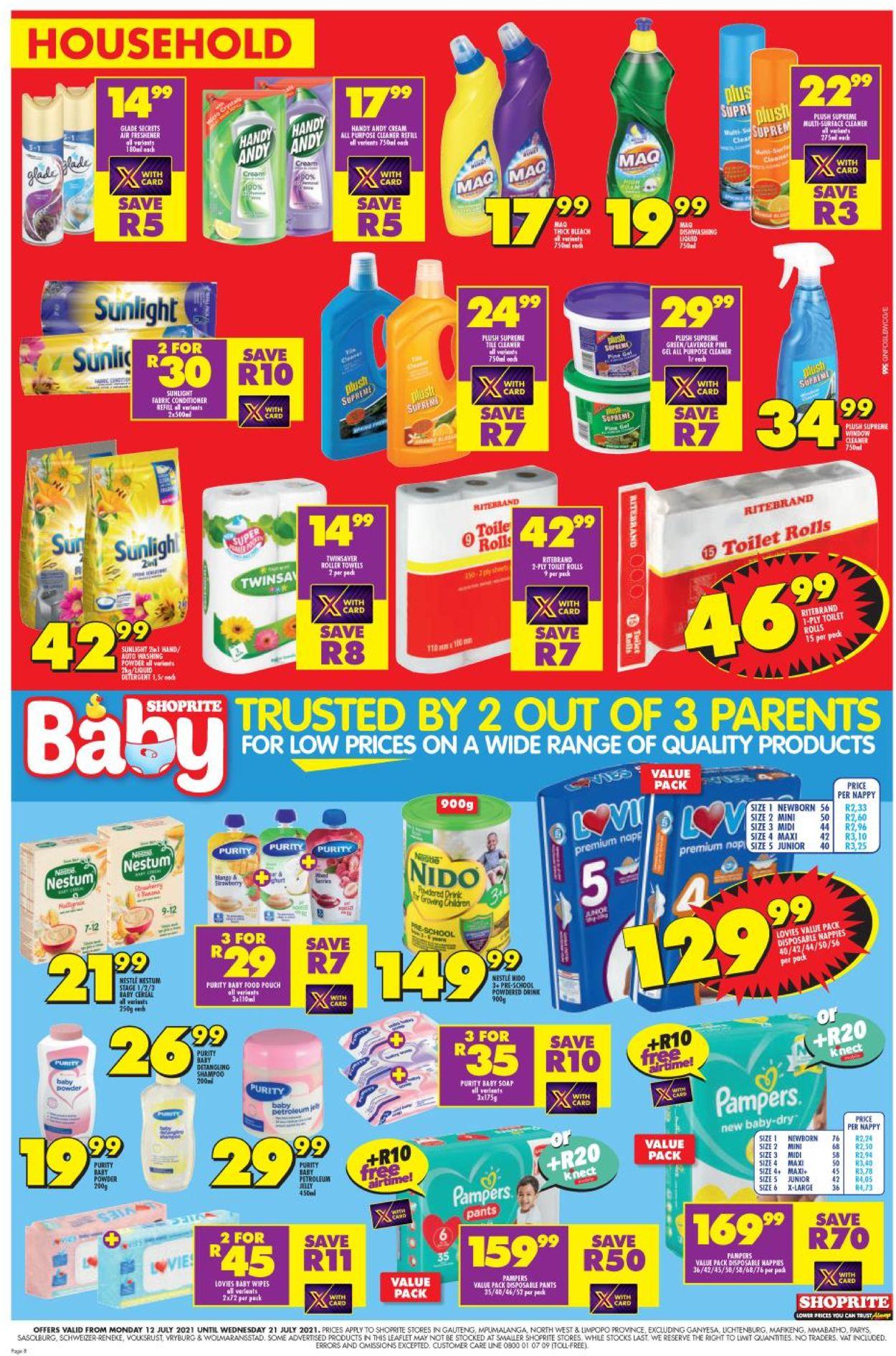 Shoprite Catalogue - 2021/07/12-2021/07/21 (Page 7)