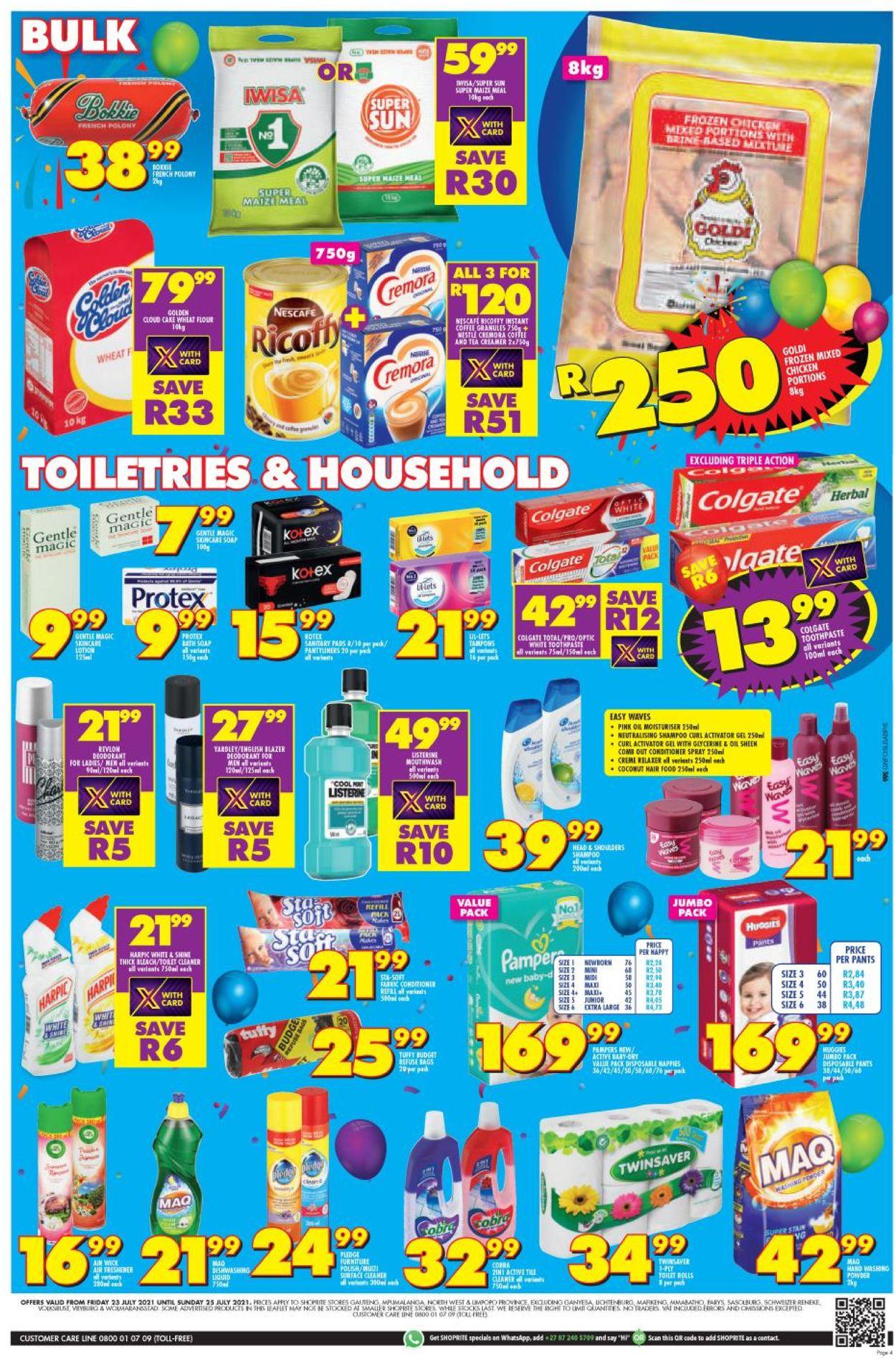 Shoprite Catalogue - 2021/07/23-2021/07/25 (Page 3)