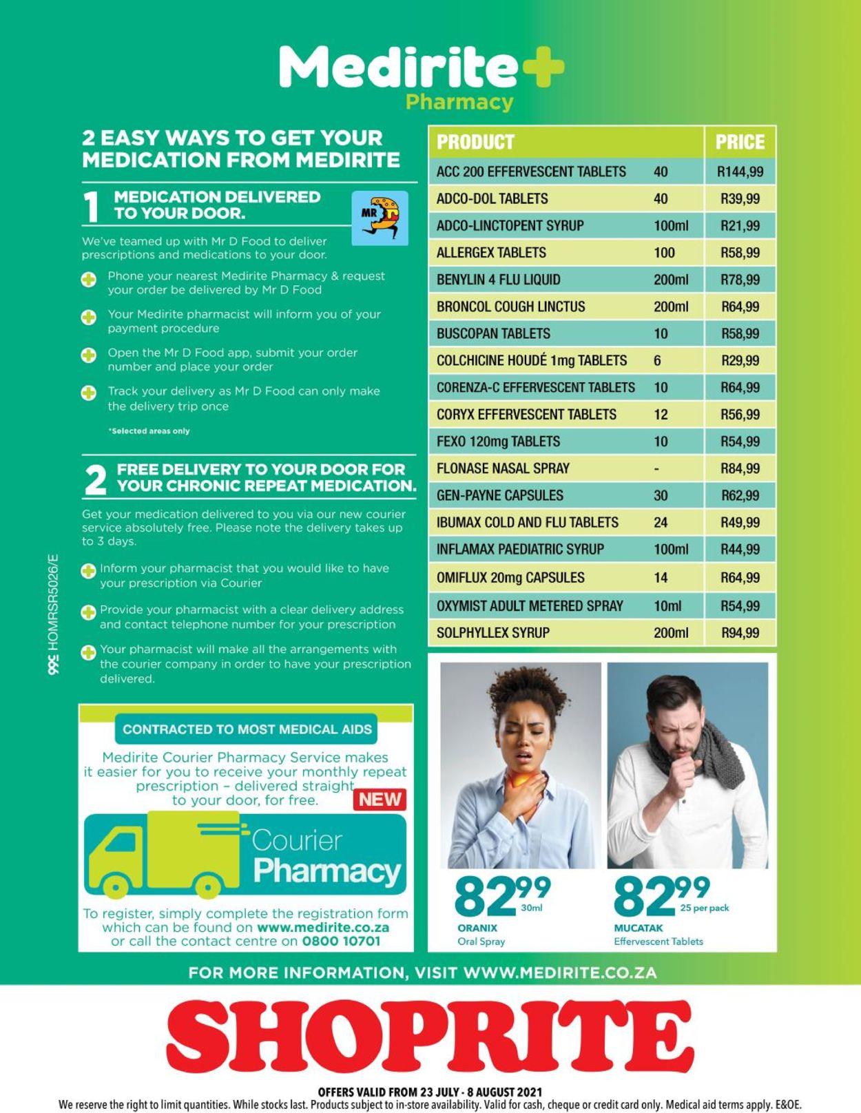Shoprite Catalogue - 2021/07/23-2021/08/08 (Page 4)