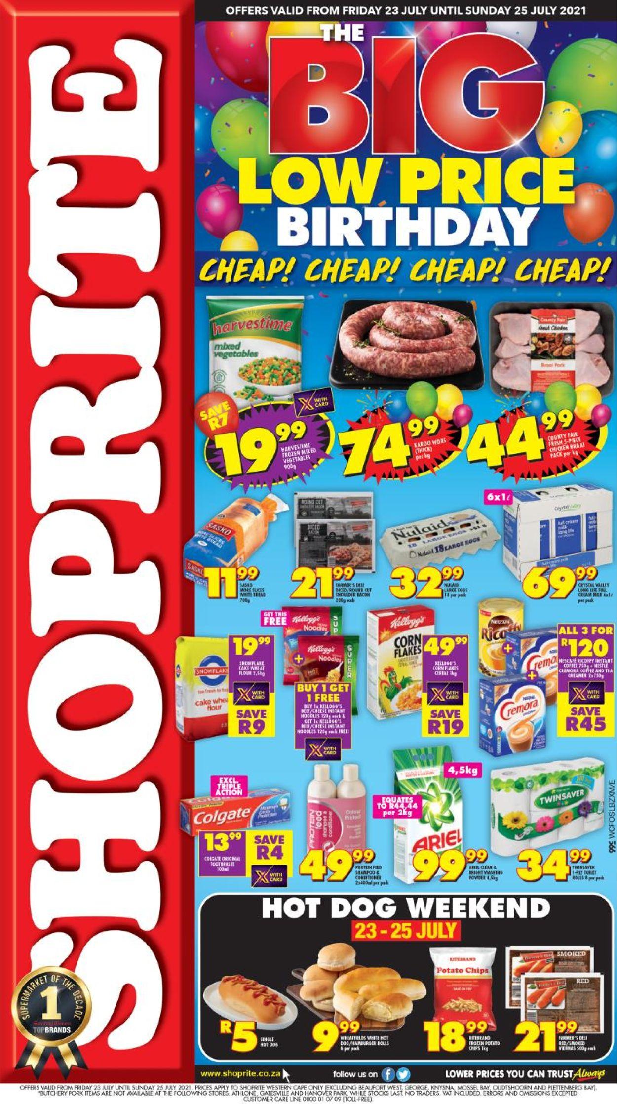 Shoprite Catalogue - 2021/07/23-2021/07/25
