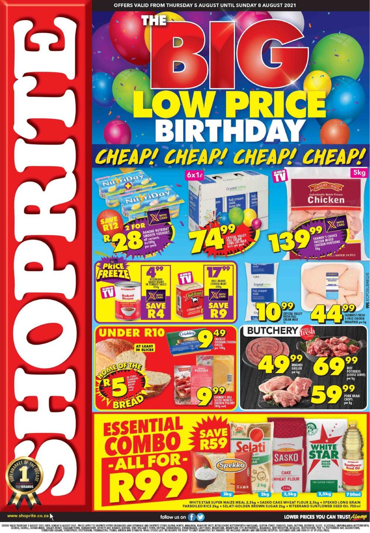 Shoprite Catalogue - 2021/08/05-2021/08/08