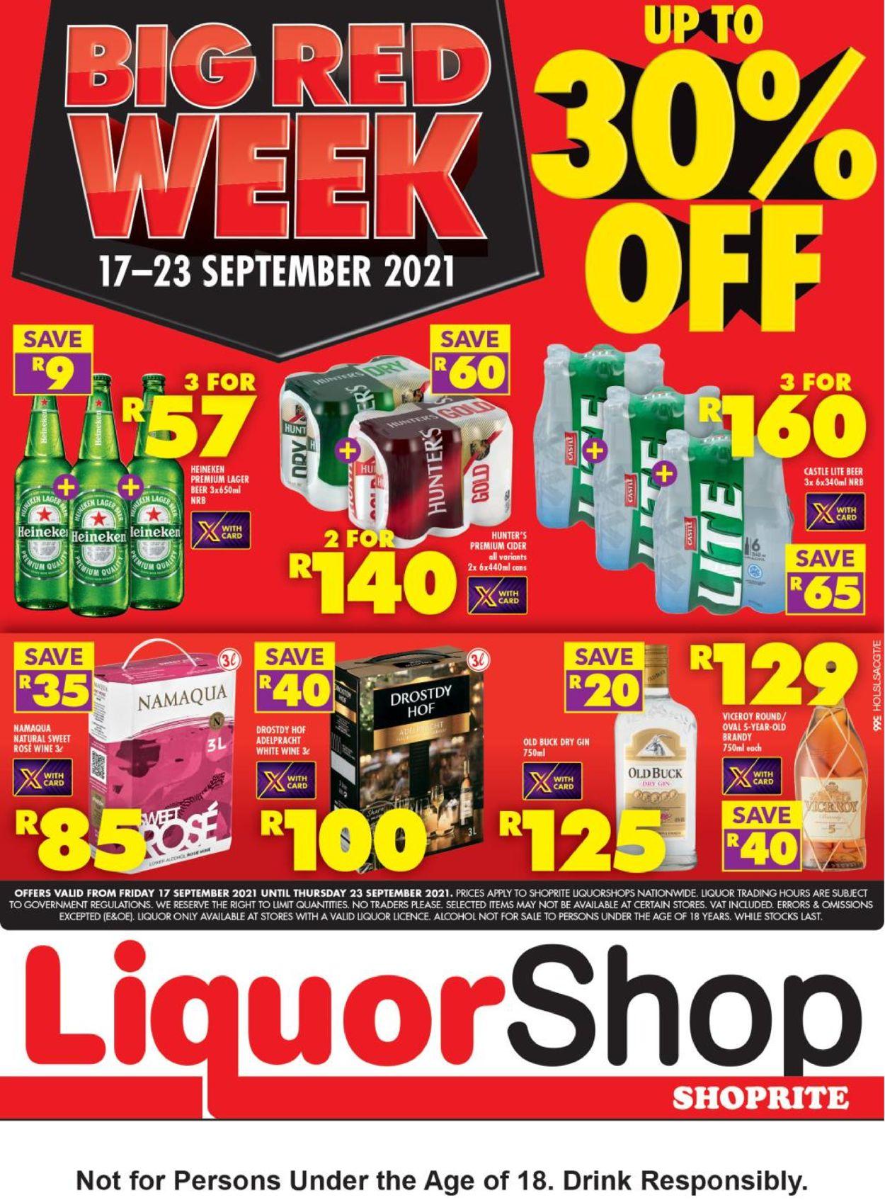 Shoprite Catalogue - 2021/09/17-2021/09/23