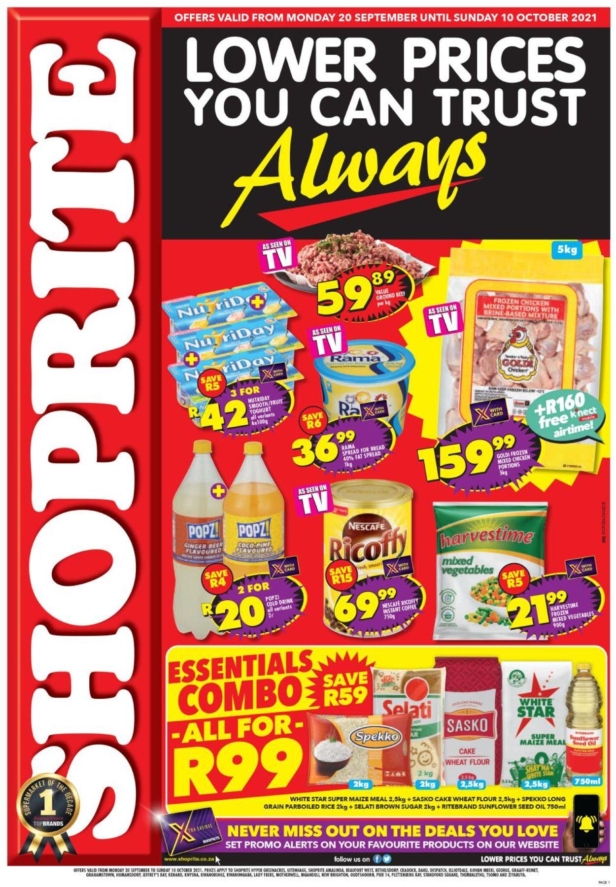 Shoprite Catalogue - 2021/09/20-2021/10/10