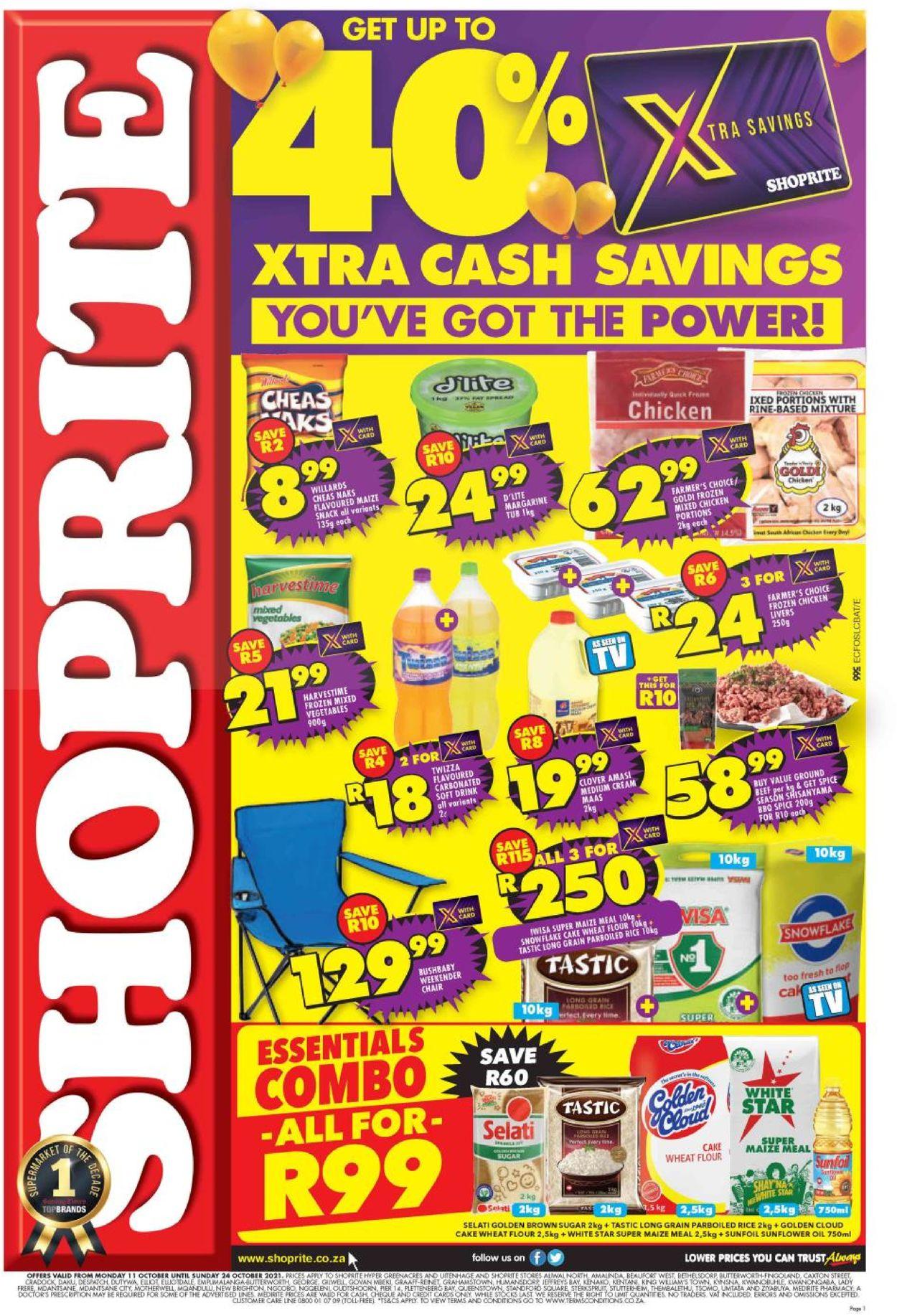 Shoprite Catalogue - 2021/10/11-2021/10/24