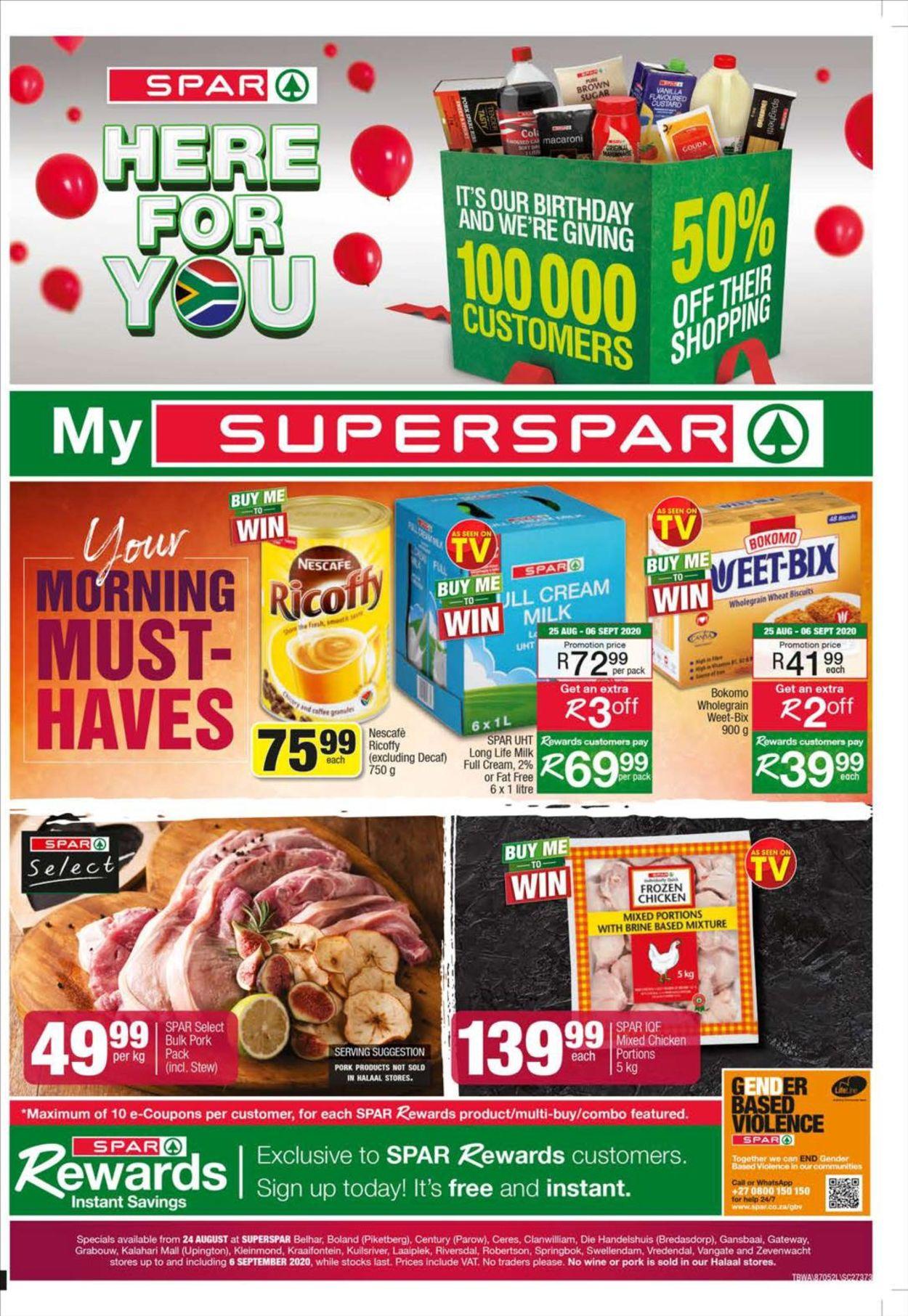 SPAR Catalogue - 2020/08/24-2020/09/06