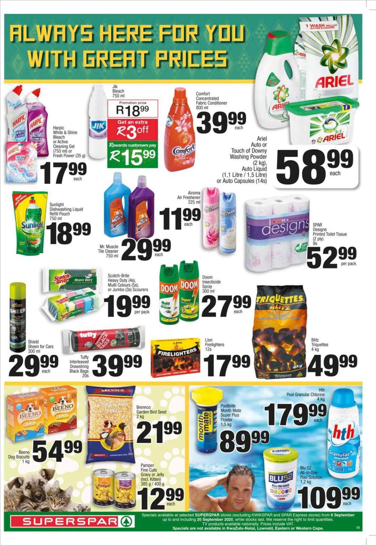 SPAR Catalogue - 2020/09/08-2020/09/20 (Page 11)