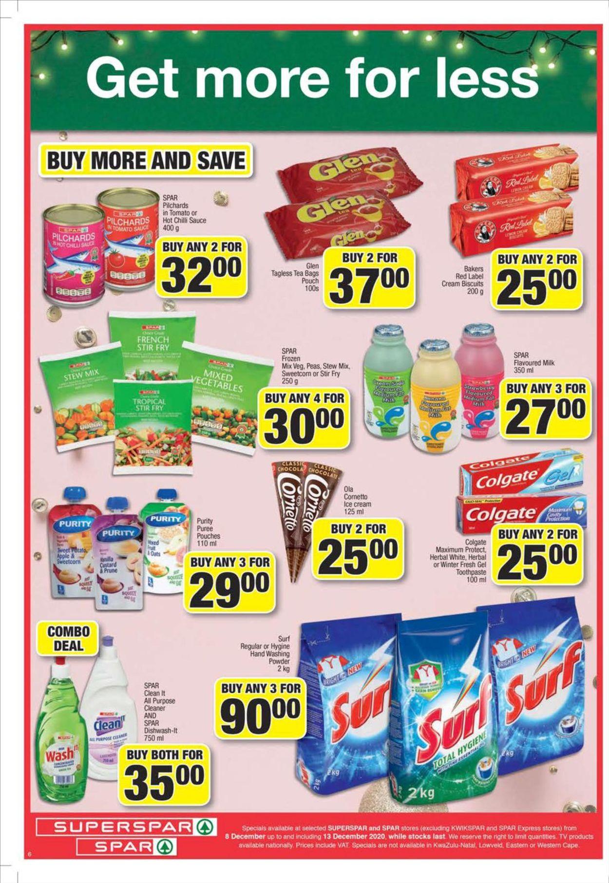 SPAR Catalogue - 2020/12/08-2020/12/13 (Page 6)