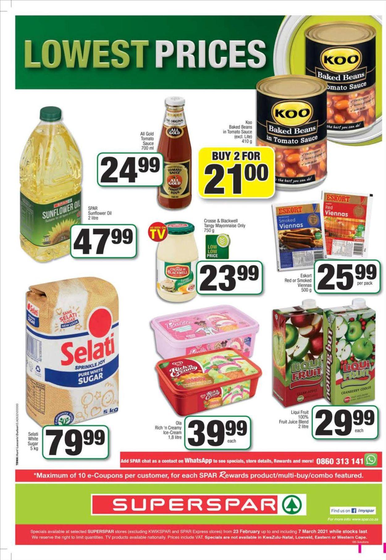 SPAR Catalogue - 2021/02/23-2021/03/07 (Page 12)
