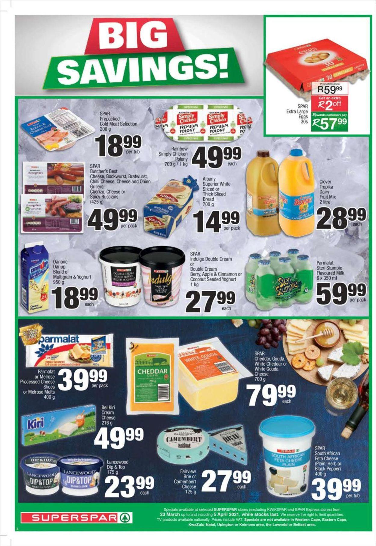 SPAR Catalogue - 2021/03/23-2021/04/05 (Page 4)