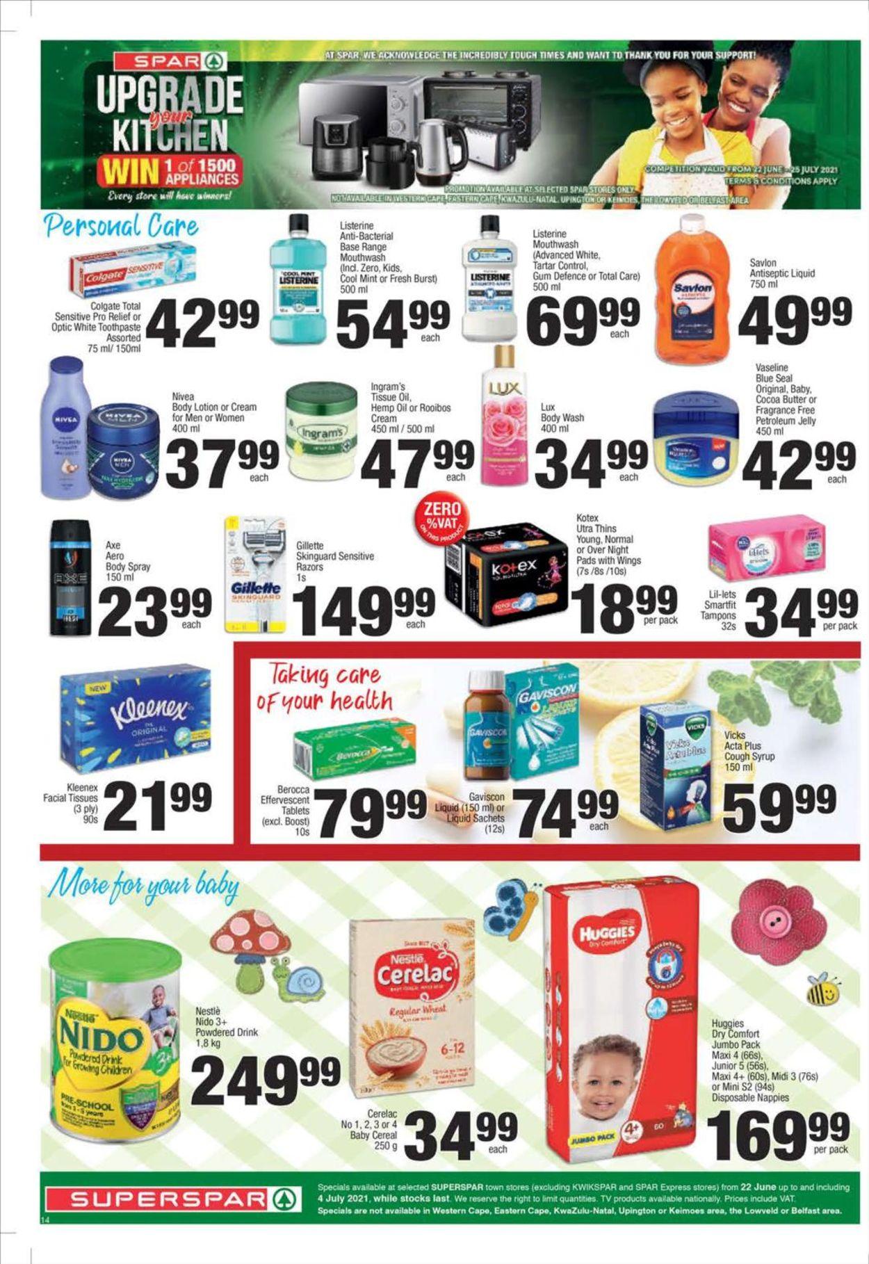 SPAR Catalogue - 2021/06/22-2021/07/04 (Page 14)