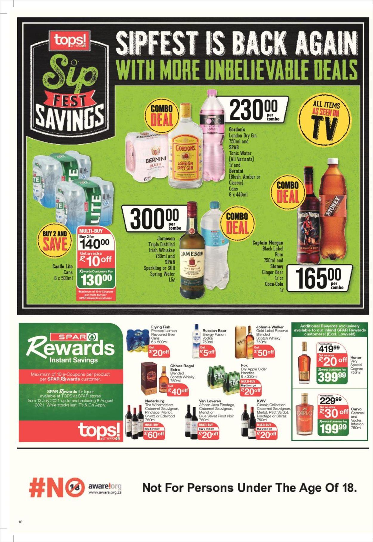 SPAR Catalogue - 2021/07/27-2021/08/08 (Page 12)